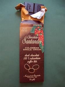 El Mundo Del Chocolate  Chocolate Santander De Colombia Con Trocitos De Caf U00c9
