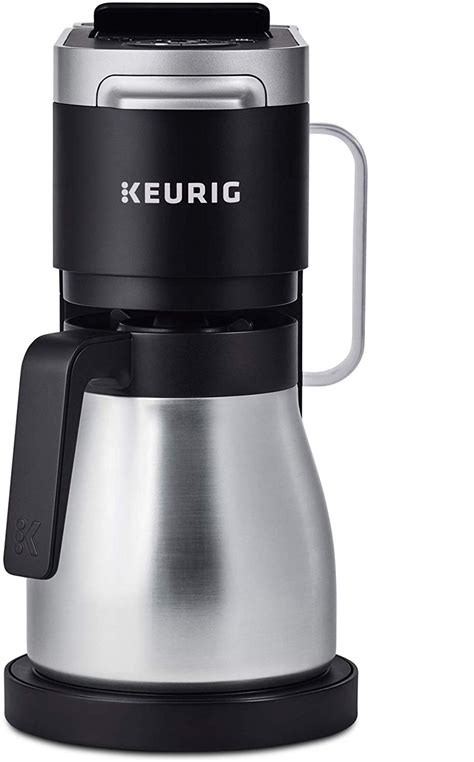 Never again have to worry about throwing away a whole pot of. Keurig K-Duo Plus Coffee Maker, Single Serve and 12-Cup Carafe Drip Coffee Brewer, Black - VIP ...
