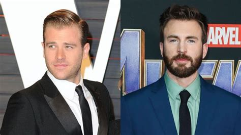 Scott Evans Reacts To Brother Chris Evans' NSFW Instagram ...