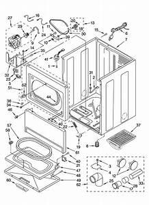 Cabinet Parts Diagram  U0026 Parts List For Model 11076922502