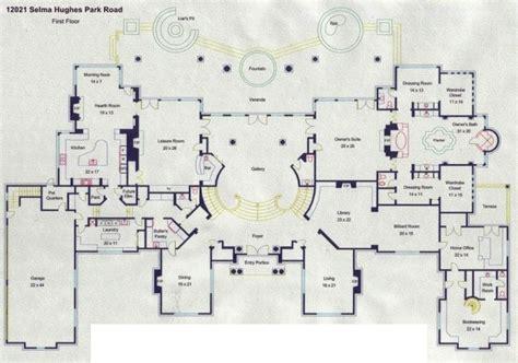 mansion floorplans floorplans homes of the rich