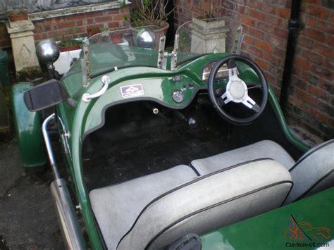 3 Wheel 2 Seat Car by Lomax 223 602cc Citroen 2cv Based 3 Wheel 2 Seat Open Top