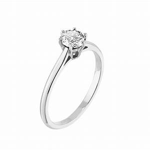 bague little lady or blanc 18 cts diamant gemmyo With bague or