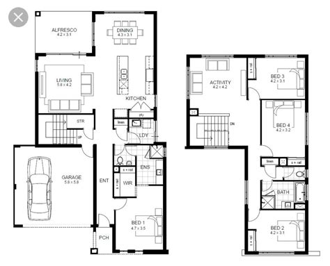 contemporary 2 bedroom house plans simple 4 bedroom house designs flat roof modern plans 10 18534 | 4 bedroom modern house plans 7