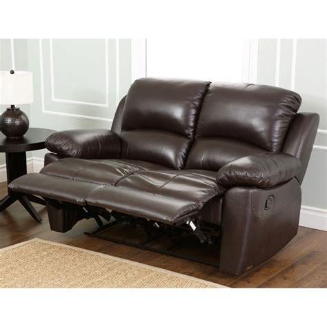 abbyson living bradford reclining sofa abbyson living bella 3 piece leather reclining sofa set in