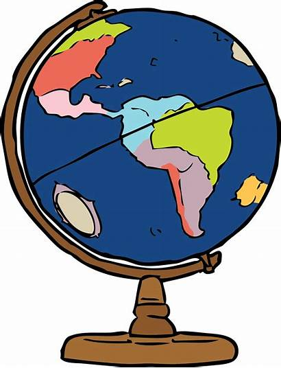 Globe Clipart Earth Globes Geography Studies Svg