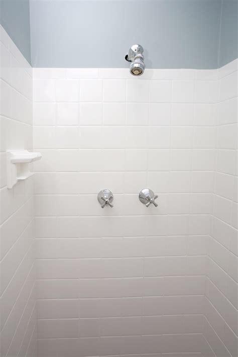 bathroom tile ideas white ideas white tile gray grout ceramic wood image of