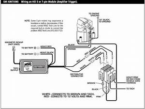 Super Chevy Msd Digital 6al Hei Wiring Diagram