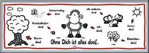 Poster Aufhängen Ohne Rahmen : sheepworld ohne dich ist alles doof t r poster druck rahmen aus aluminium ebay ~ Bigdaddyawards.com Haus und Dekorationen