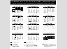 SEP Este es el calendario escolar 20172018