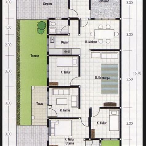 model rumah minimalis ukuran 8x10