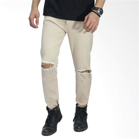 celana ripped knee jual frozenshop ripped on knee celana pria khaki