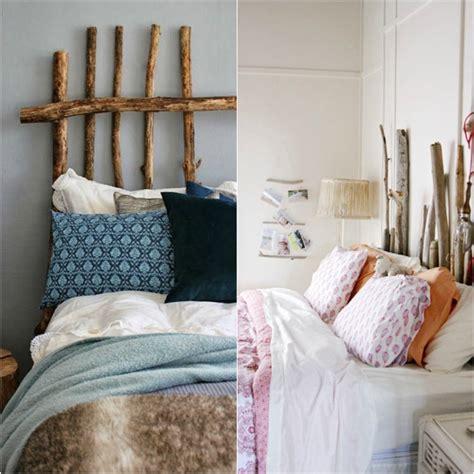 chambre bois flotté tête de lit bois flotté une décoration romantique qui