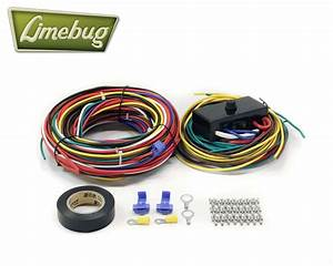 Vw Wiring Loom With Fuse Box T1 Beetle Buggy Bug Baja