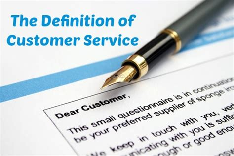 Definition Of Guest Or Customer Service by The Definition Of Customer Service