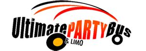 party bus logo nj limo rental party bus rental nj ultimate party bus