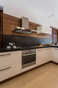 modern kitchen backsplash 17 Small Kitchen Design Ideas - Designing Idea
