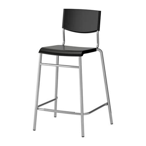 stig bar stool with backrest 24 3 4 quot ikea