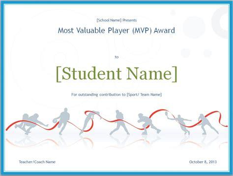 mvp certificate mvp certificate template