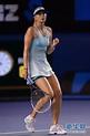 莎拉波娃亮相澳網賽場 首輪2-0輕鬆晉級(組圖) - 體育 - 國際線上