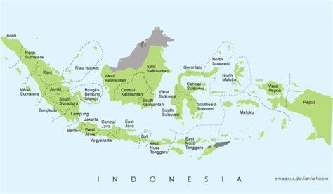 vector map  indonesia freevectors