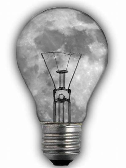 Bulb Transparent Editing Moon Isolated Lamp Pixel