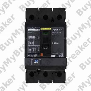 Square D Jdl36225 3 Pole 225 Amp 600v Circuit Breaker