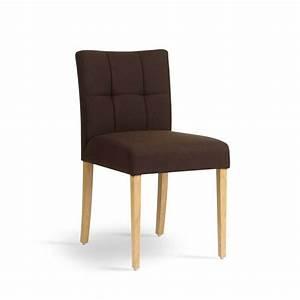 Chaise Tissu Salle A Manger : chaise de salle manger en bois et tissu carr mobitec 4 pieds tables chaises et tabourets ~ Teatrodelosmanantiales.com Idées de Décoration