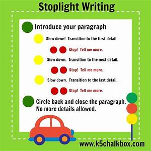 how to use stoplight writing to teach students how to With teaching kids to write letters
