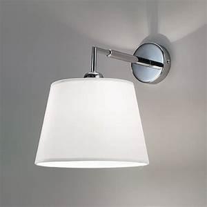 6474 SMART Lampada Parete applique moderno paralume bianco Antea Luce