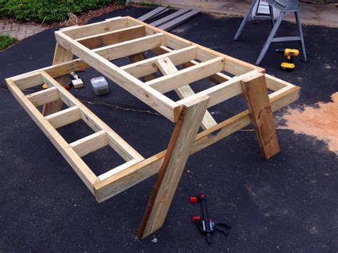 How To Build A Picnic Table In Just One Day
