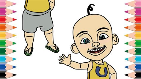 draw upin ipin coloring pages  kids learn colors