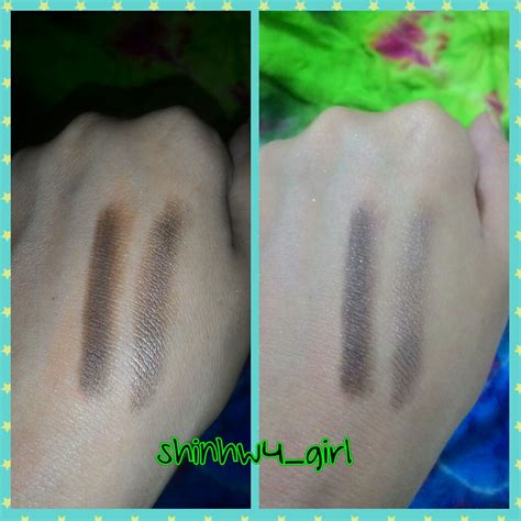 review ac   crayon eye color green peass beauty blog