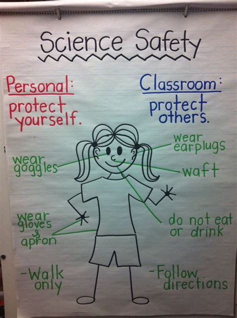 Science Safety Worksheet For Kindergarten  Safety Videos Lab And Science On Pinterest1000