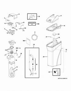 Ge Gxmh31h00 Water Softener Parts
