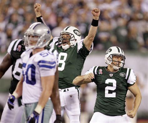 NFL scores: Jets stun Cowboys, Texans rip Colts - CBS News