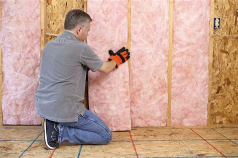 install insulation  drywall  open walls