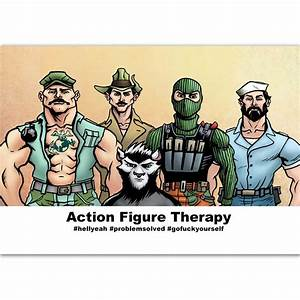 """Action Figure Therapy """"AFT Team"""" Sticker"""