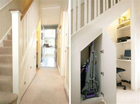 unter der treppe wohnideen schöne praktische lagerraum ideen unter der treppe