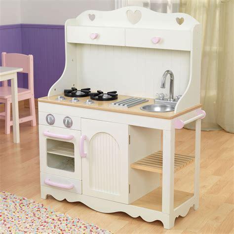 cuisine en bois kidkraft kidkraft kinderküche prärie aus holz 53151