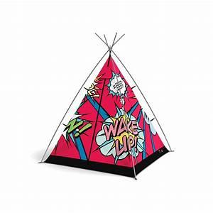 Tente Enfant Tipi : tente de super h ros pour chambre enfant original et design ~ Teatrodelosmanantiales.com Idées de Décoration