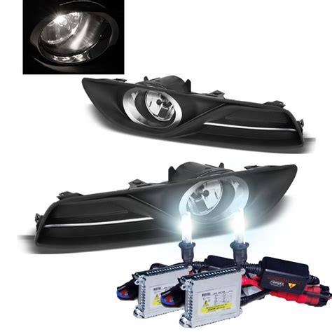 nissan sentra fog lights hid xenon 2013 2014 nissan sentra oem style replacement