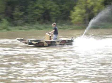 Boat Motor Jet Conversion by Jet Ski Jon Boat Youtube