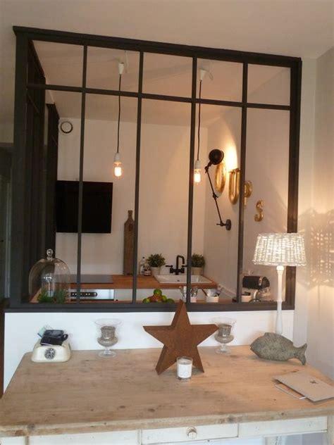 verri鑽e cuisine separation cuisine verriere maison design bahbe com