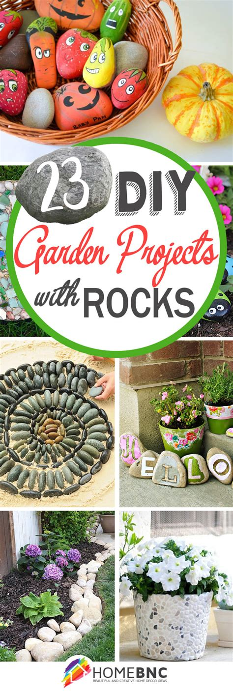 Diy Garden Decoration Projects by 23 Best Diy Garden Ideas And Designs With Rocks For 2017