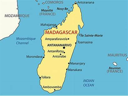 Madagascar Map Island Reunion Clip Illustrations Republic
