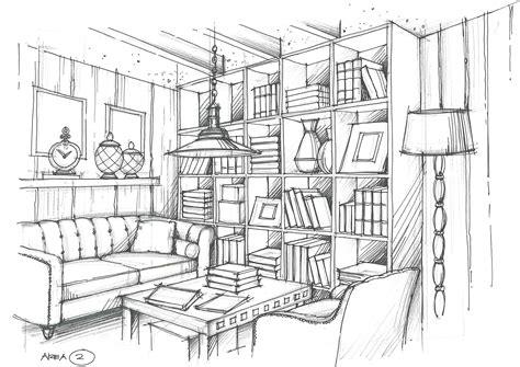 living room interior design sketches interior design