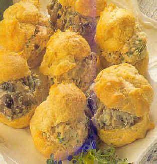garniture pour pate a choux petits choux au fromage et chignons ou au thon entrees et pr 233 parations pour l ap 233 ritif