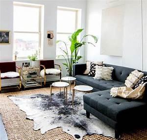 les 25 meilleures idees de la categorie tapis en peau de With tapis design avec canapé lodge