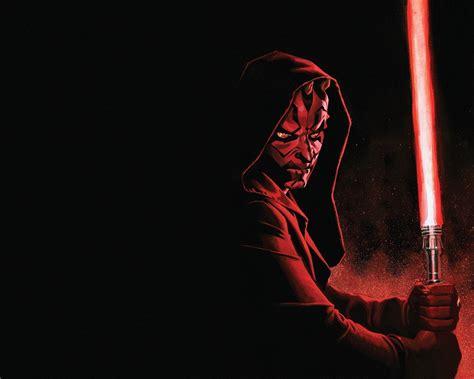 star wars darth maul lightsaber art picture